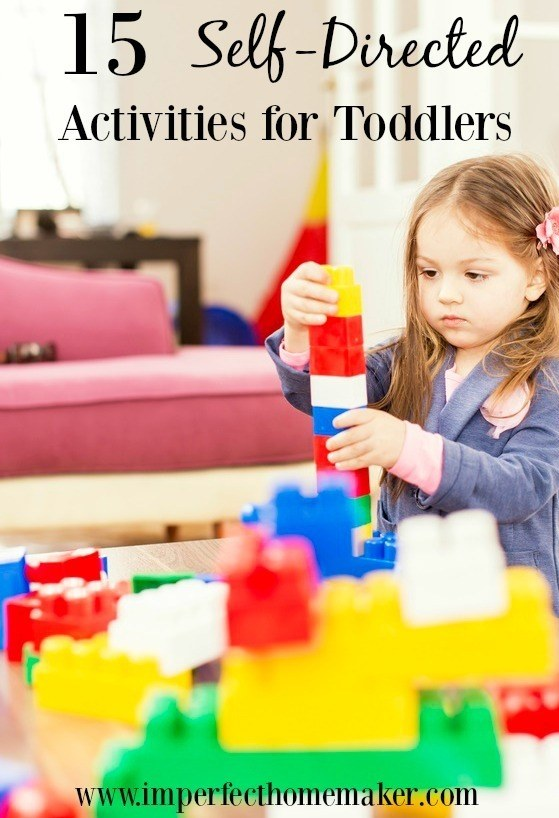 self directed activities for toddlers