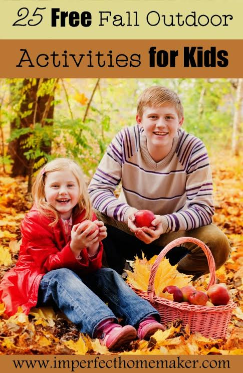 Free fall outdoor activities for kids