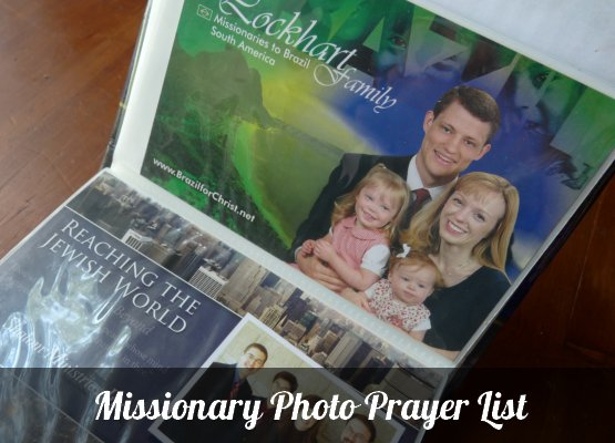 missionary prayer list