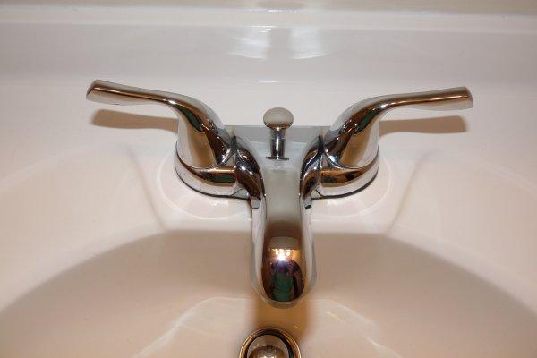 shiny faucet