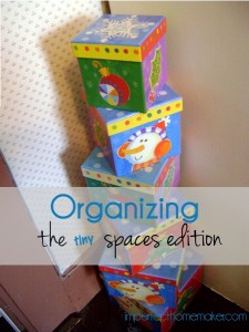 organizing for small spaces
