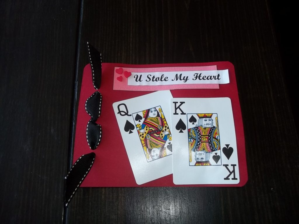 U Stole My Heart Valentine
