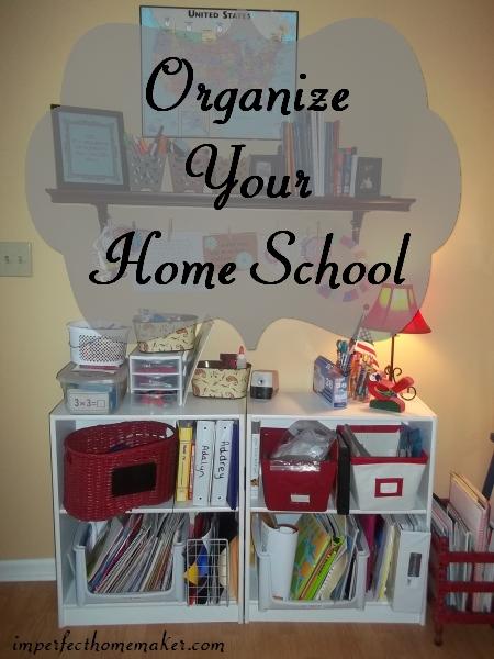 organized homeschooling