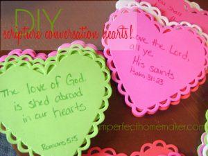 diy scripture conversation hearts