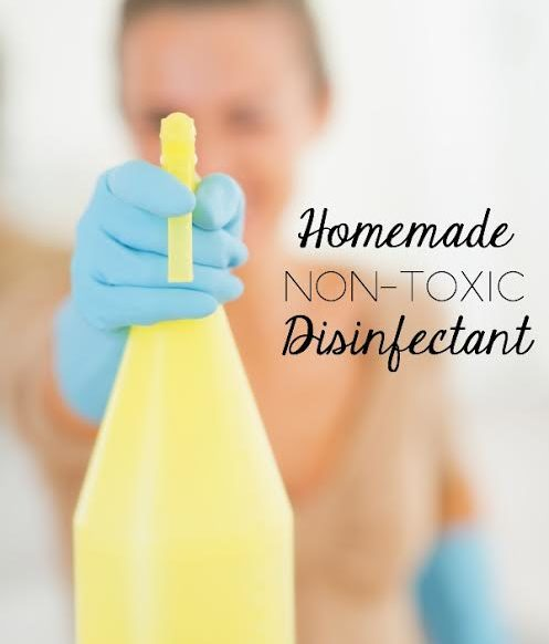 Homemade Non-Toxic Disinfectant - This is really easy and do-able!