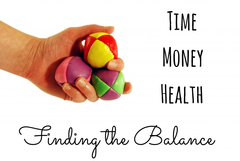 Time, Money, Health: Finding the Balance
