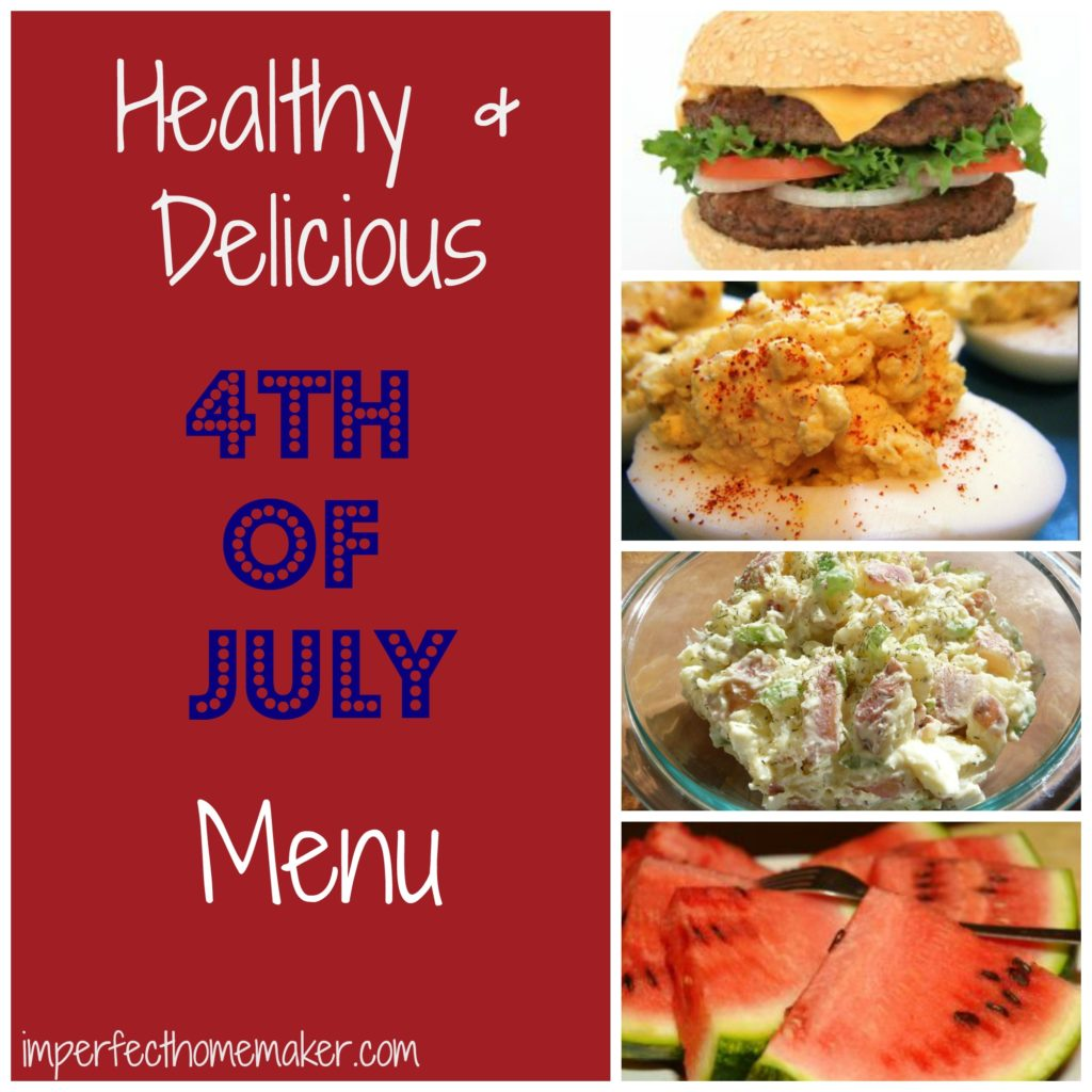Healthy July 4th Menu