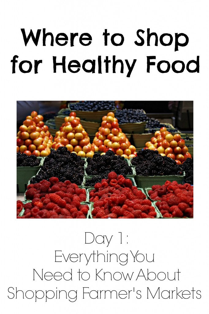 Where to Shop for Healthy Food