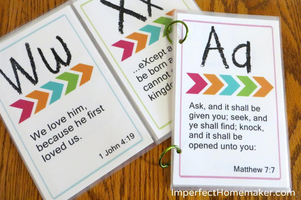 Printable ABC Bible Verses