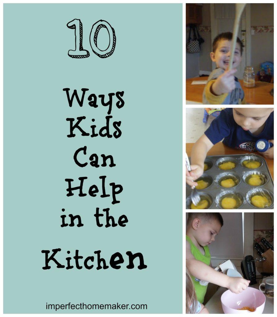 10 Ways Kids Can Help in the Kitchen