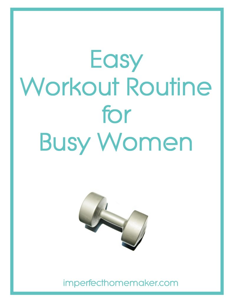 Easy Workout Routine