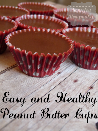 easy and healthy peanut butter cups