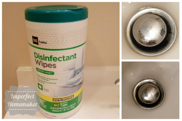 Dollar General disinfectant wipes