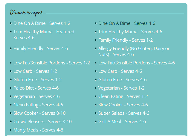 how i plan my menus with build a menu imperfect homemaker