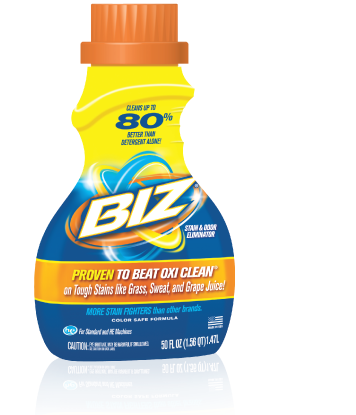 Fight stains with Biz
