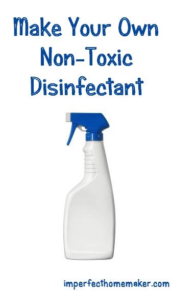 homemade non-toxic disinfecant