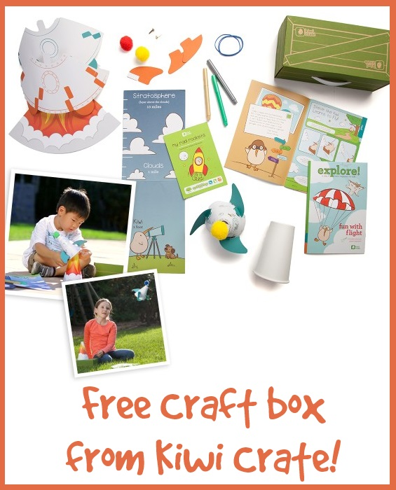 Free craft box from Kiwi Crate