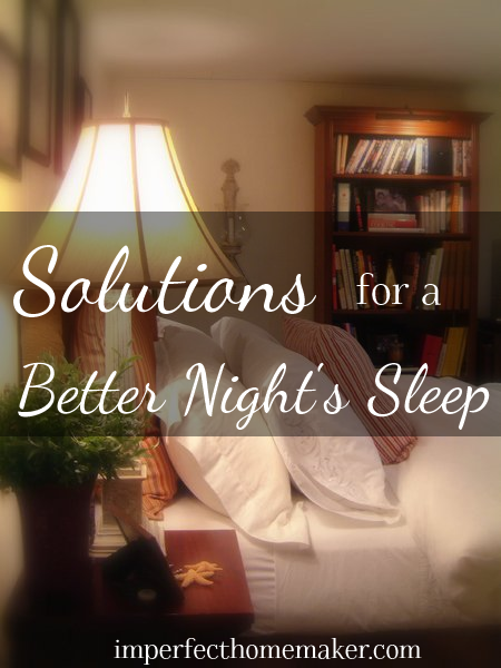 Solutions for a Better Night's Sleep