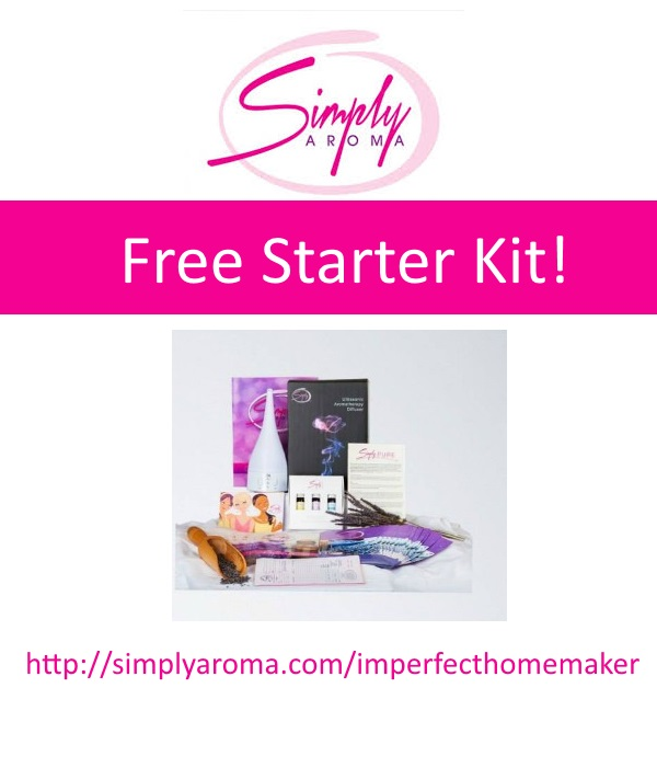 free starter kit from Simply Aroma