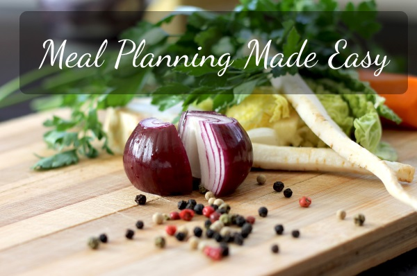 Easy Way to Meal Plan