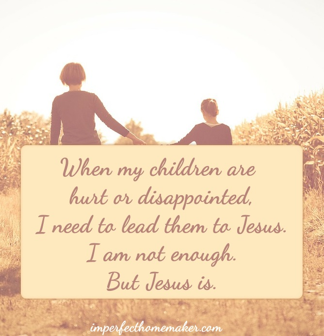 Christian Motherhood Quote | imperfecthomemaker.com