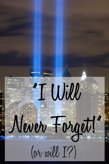 I will never forget! (Or will I?) | Imperfect Homemaker