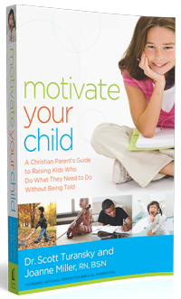 Motivate Your Child to Do Right Without Being Told.  Is it Possible?  This is a great book with lots of practical suggestions.