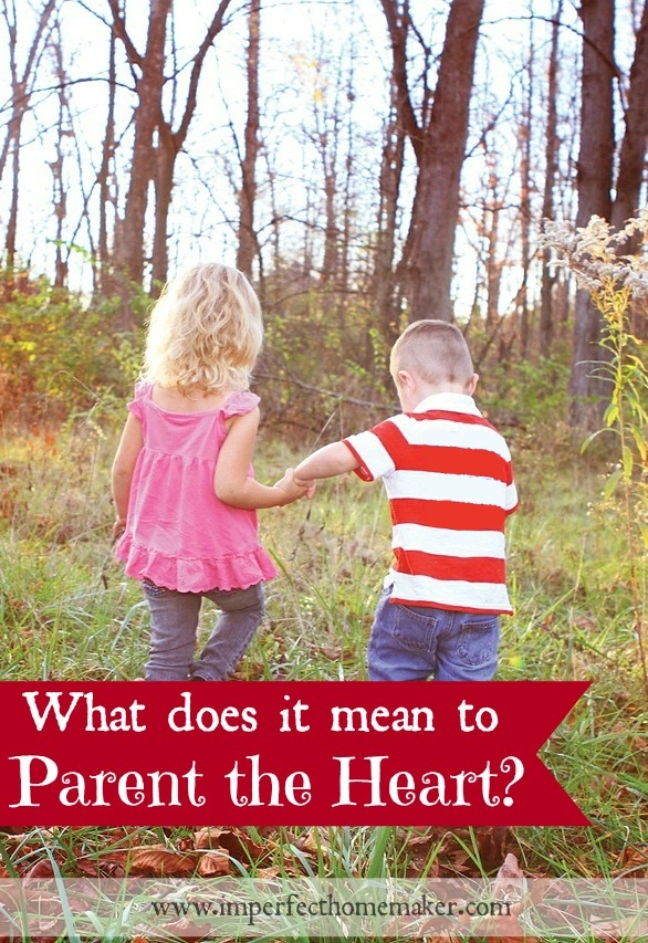 What does is mean to parent the heart?