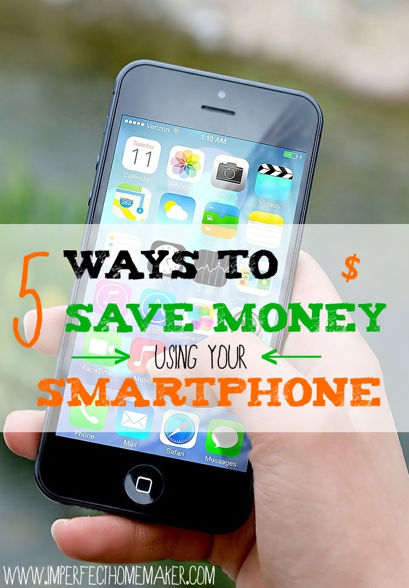Save With a Smartphone