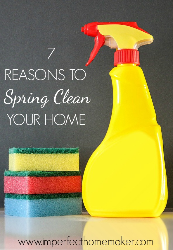 7 Reasons To Spring Clean Your Home