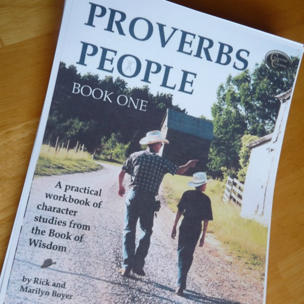 Proverbs People - GREAT resource for teaching young kids how to study the Bible for themselves and apply it to their lives!