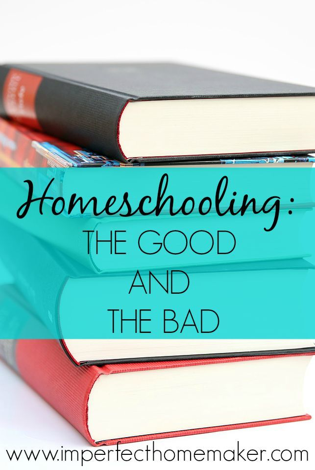 Homeschooling: The good and the bad  | from @mbream