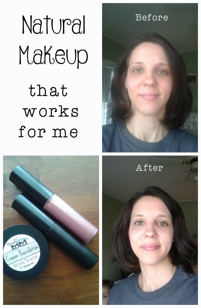 Natural makeup that works for me