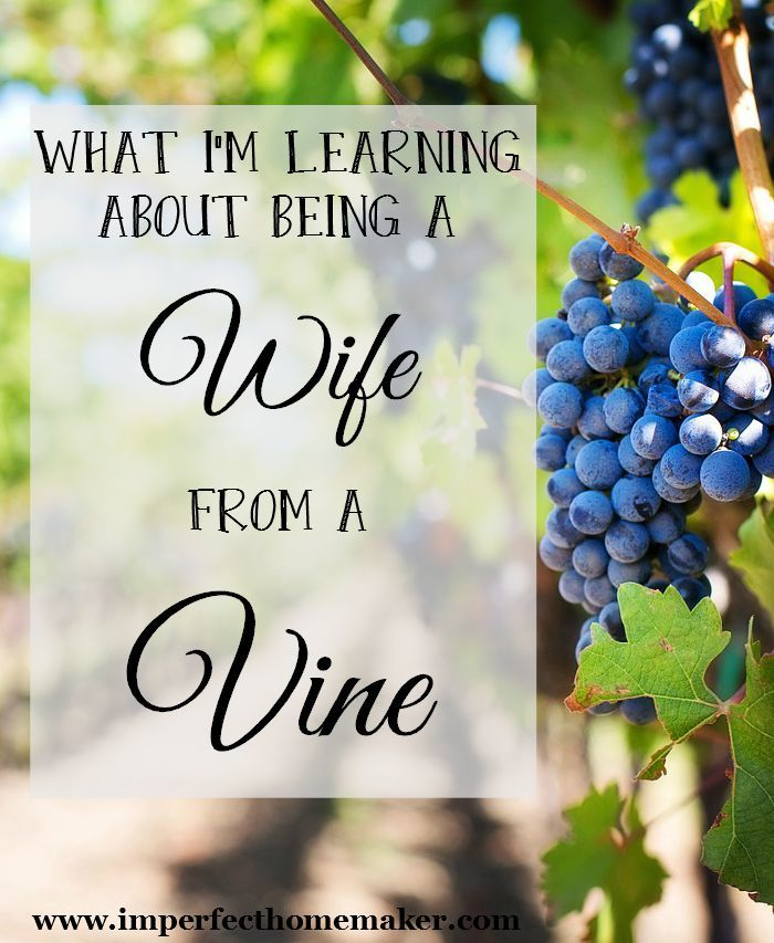 what im learning about being a wife