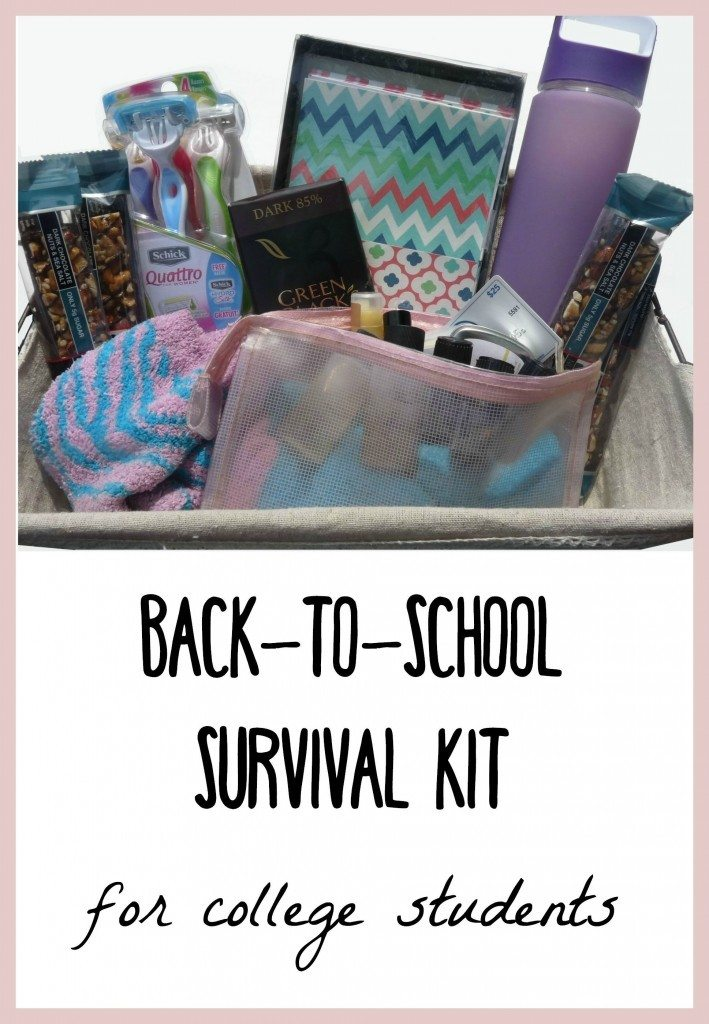 Back To School Survival Kit For College Students