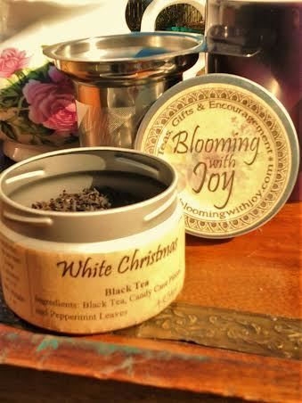 Blooming with Joy White Christmas Tea