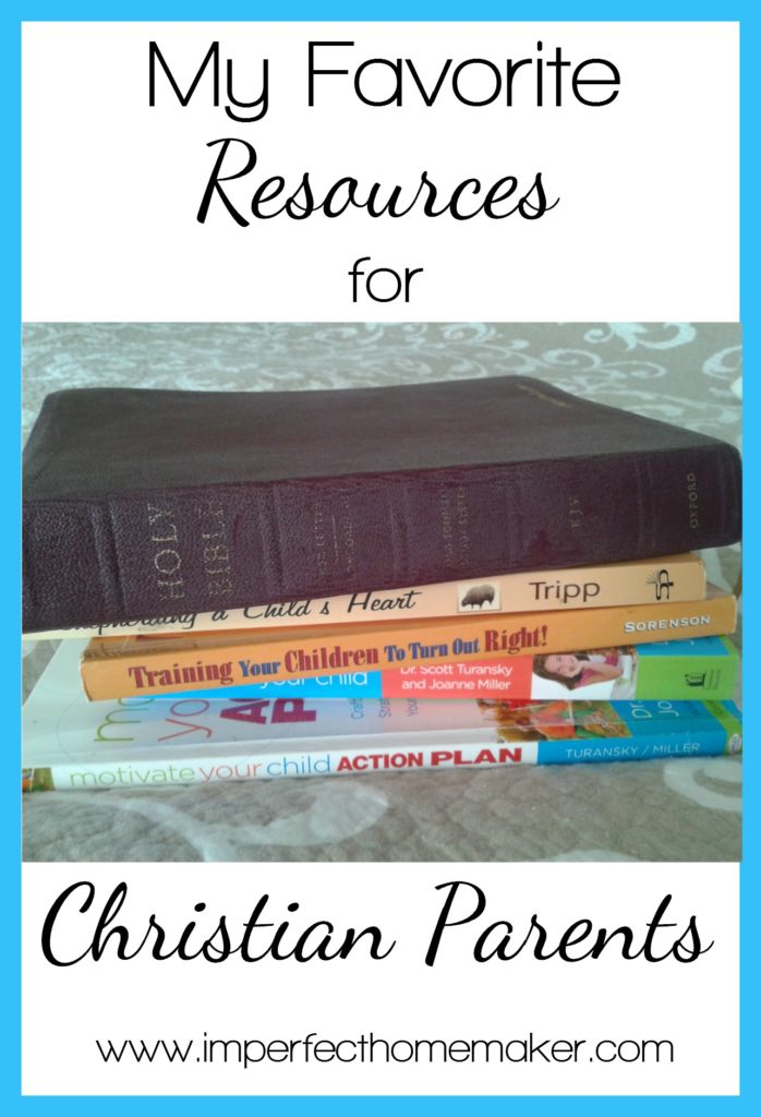 My Favorite Resources for Christian Parents | @mbream
