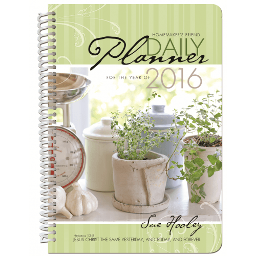 Homemaker's Friend Daily Planner