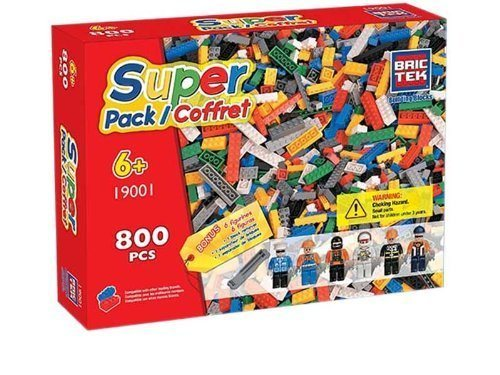 Bric Tek - offbrand Legos that are fully compatible and much cheaper!