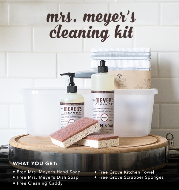 Mrs. Meyer's Cleaning Kit