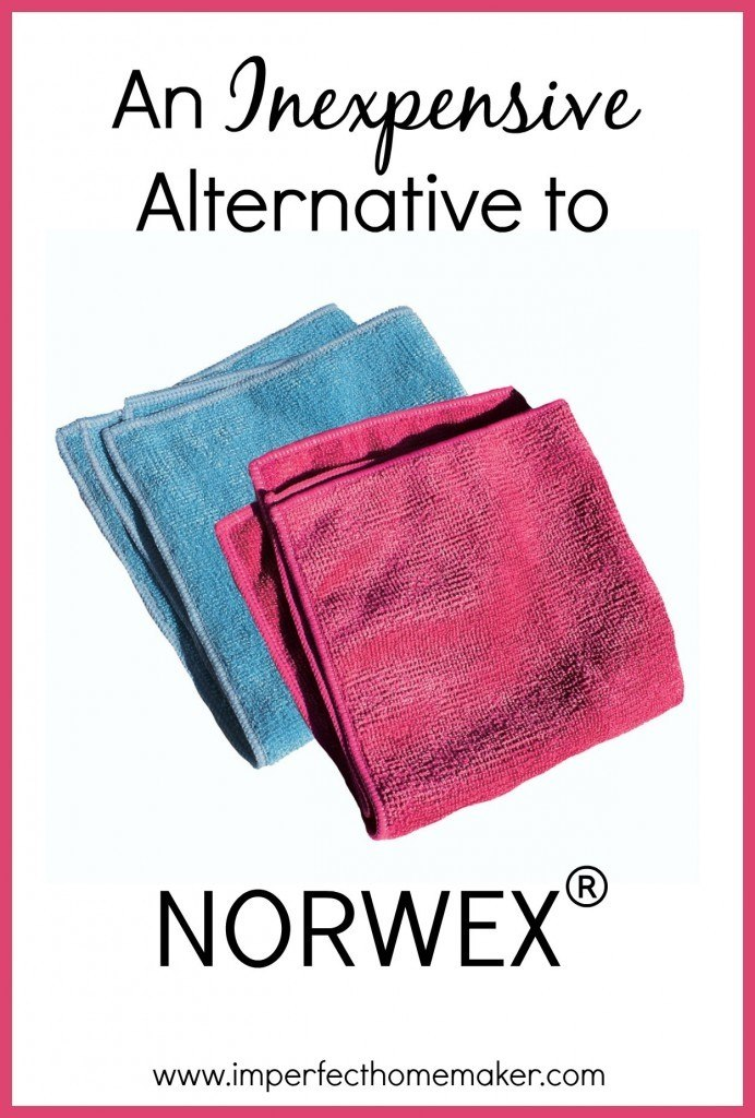 An Inexpensive Alternative to Norwex | Awesome for chemical free cleaning!