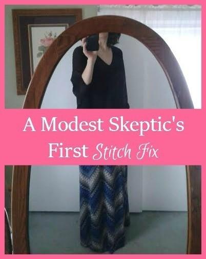 A Modest Skeptic's First Stitch Fix
