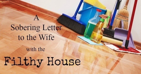 Prime A Sobering Letter To The Wife With The Filthy House Home Interior And Landscaping Spoatsignezvosmurscom