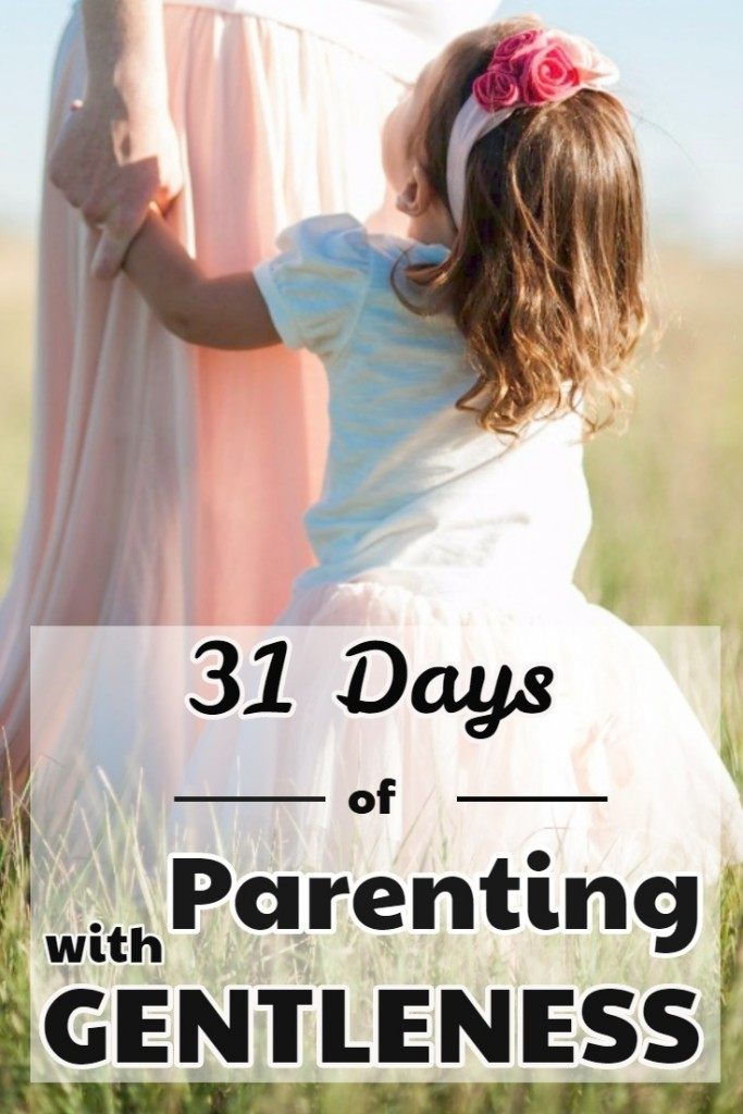 parenting with gentleness - a series for Christian parents at Imperfect Homemaker
