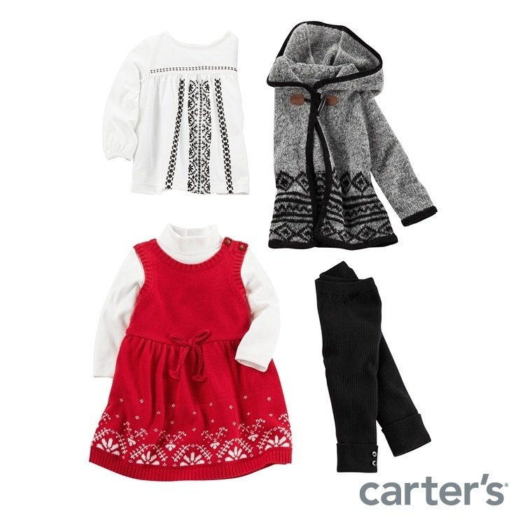 Carter's Holiday outfits
