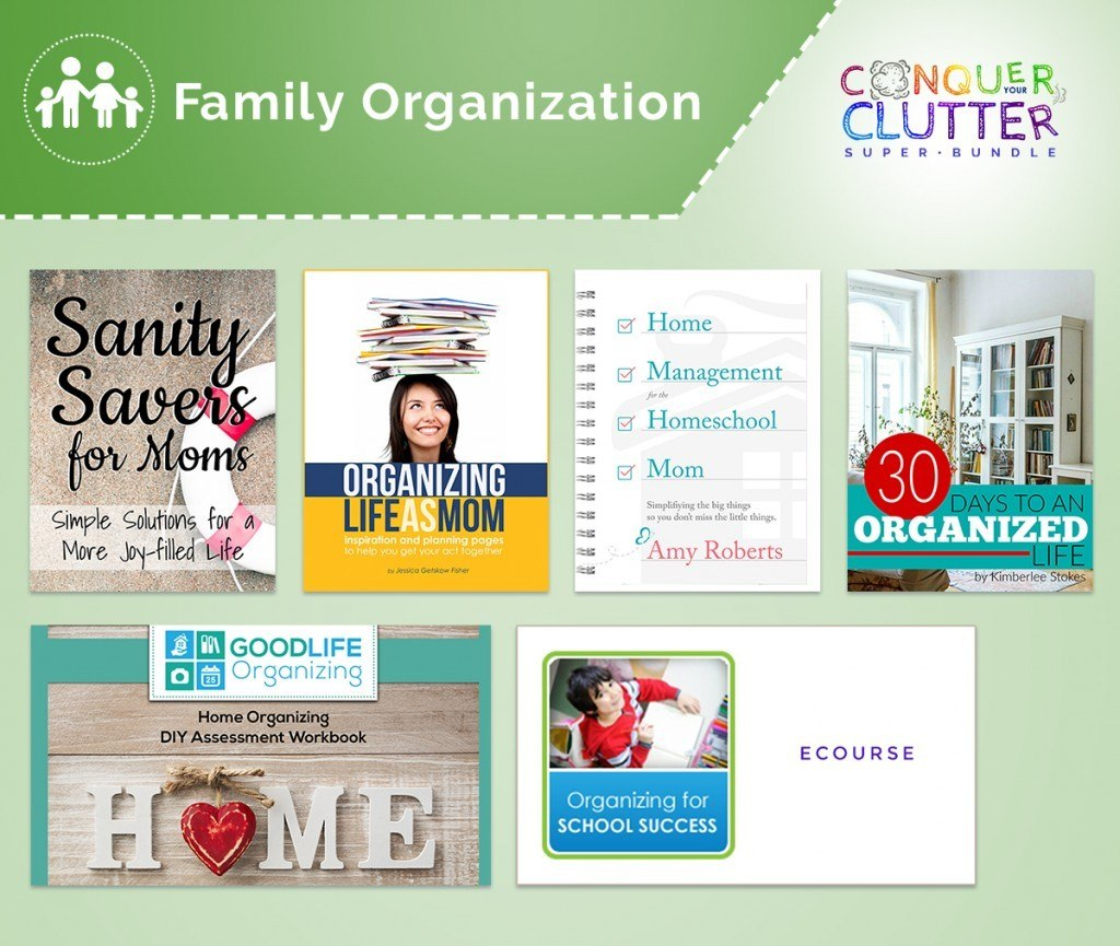 family organization bundle