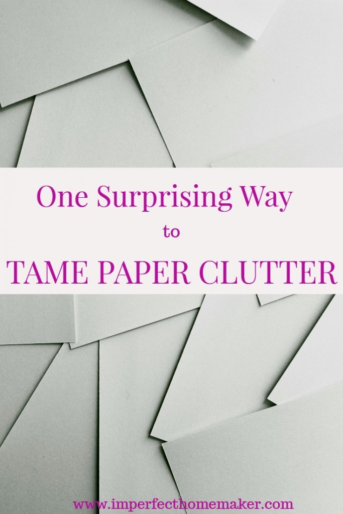 Tame paper clutter for good!