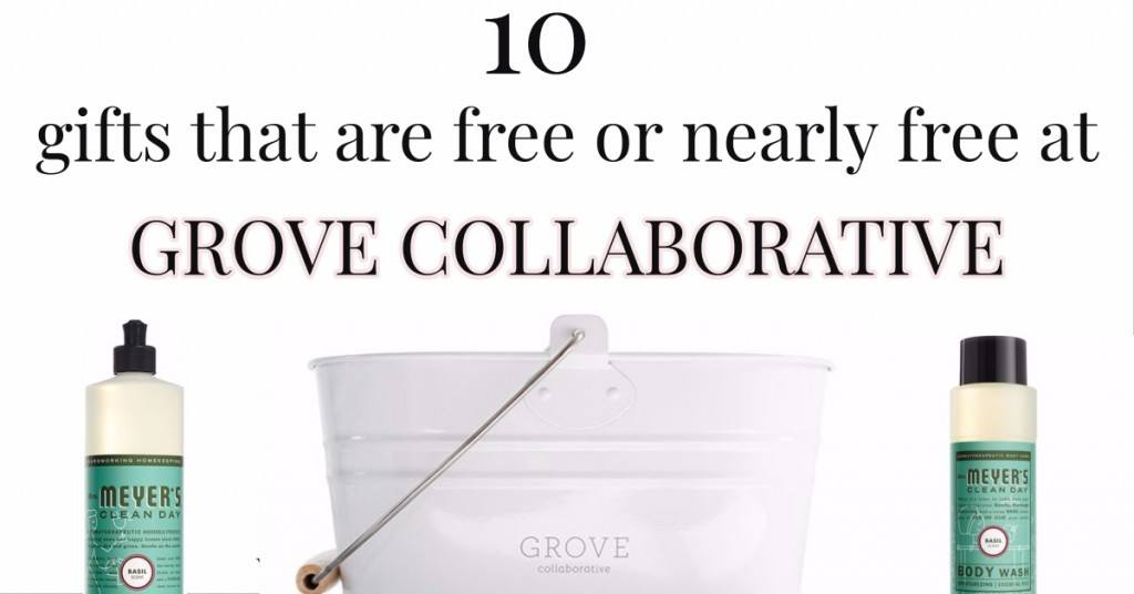 10 gifts you can get free or nearly free at grove collaborative. Black Bedroom Furniture Sets. Home Design Ideas
